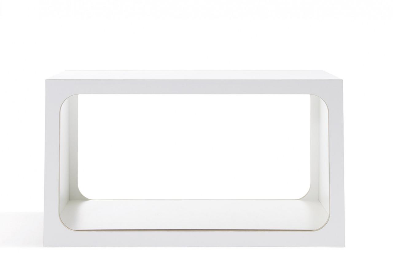 BOXIT Einzelregal in weiß