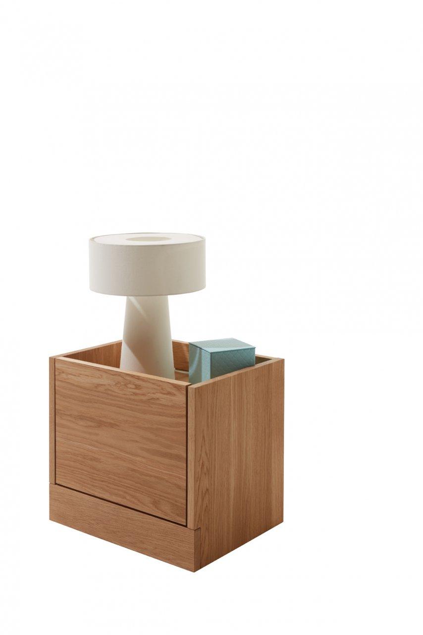 flai nachttisch eiche. Black Bedroom Furniture Sets. Home Design Ideas