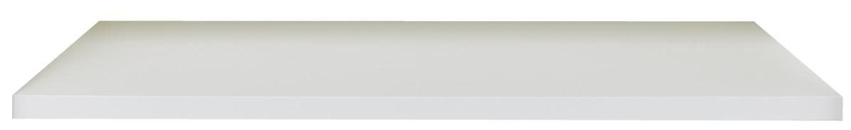 FLAI Kleiderschrank Einlegeboden, weiß mit 2 Türen