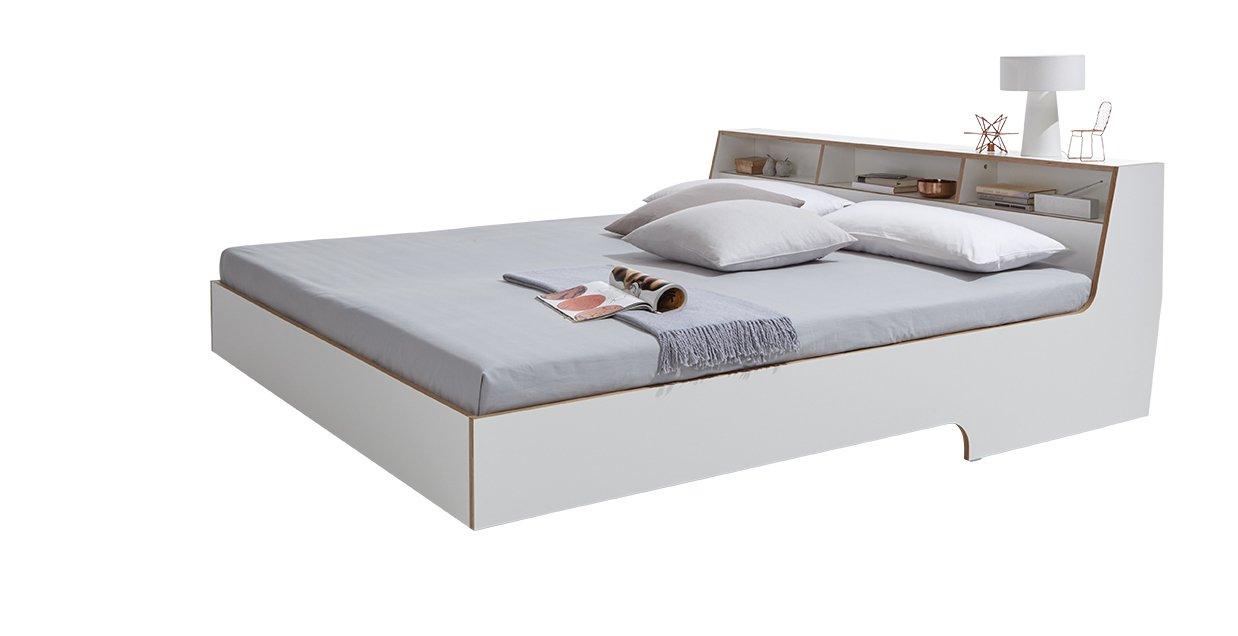 Slope Bett weiß
