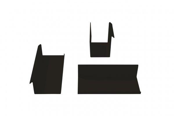 3-Teiliges Ordnungsset, Schwarz