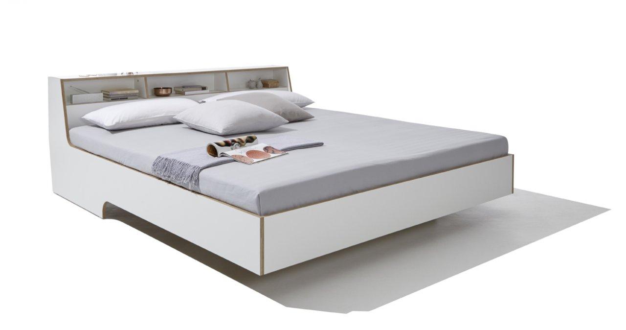 Bett weiß  Slope Bett weiß