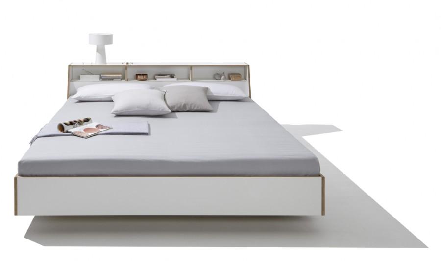 Stauraumbett 140x200 mömax  Doppelbett Weiß | daredevz.com