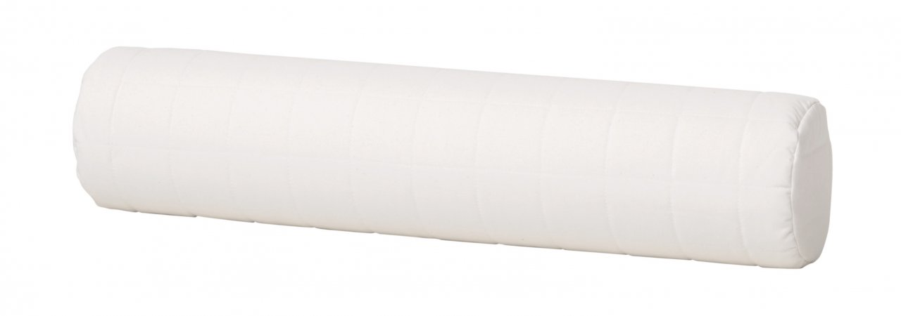Nackenrolle für Stapelliege in Weiß