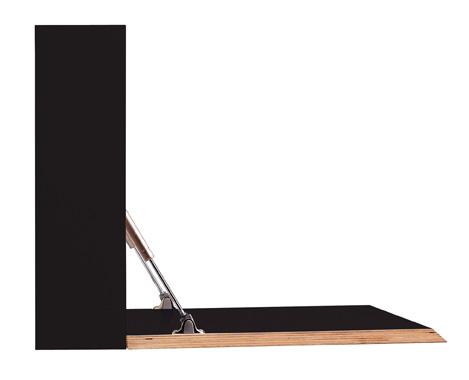 FLATBOX schwarz matt Detailbild 1