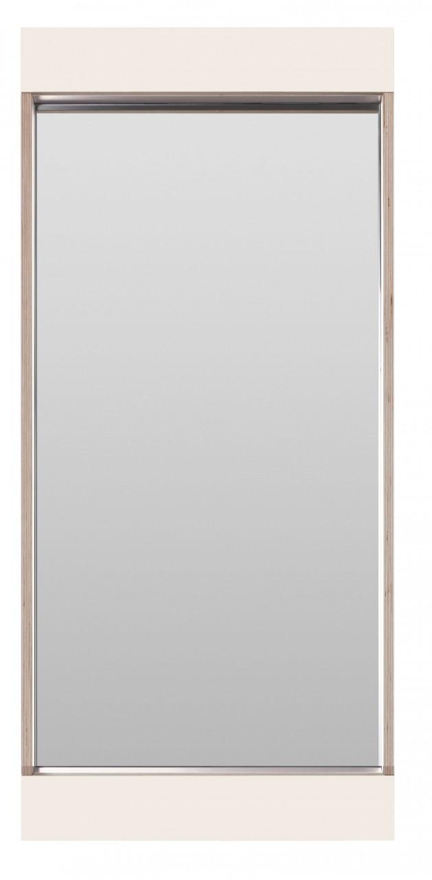 Flai Spiegel 900 x 400 mm, weiß