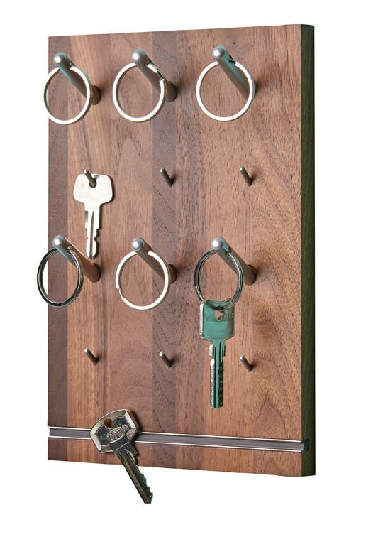 PIN Schlüsselbrett, Nussbaum