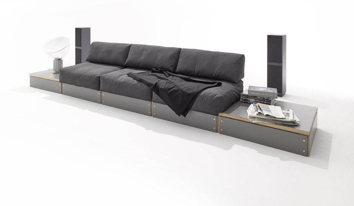 sofabank design rolf heide. Black Bedroom Furniture Sets. Home Design Ideas