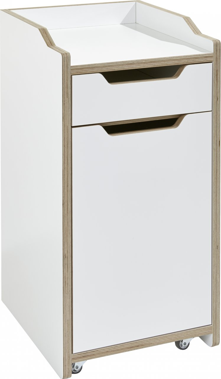 PLANE Container weiß (mit Tür)