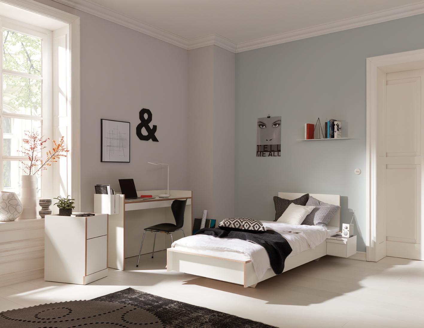 Flai bed white Detailbild 2