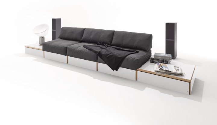 Sofabank No. 2 weiss