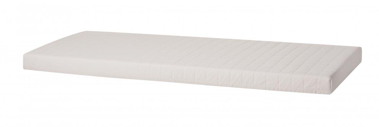 Kombi Matratze in Weiß, gesteppt
