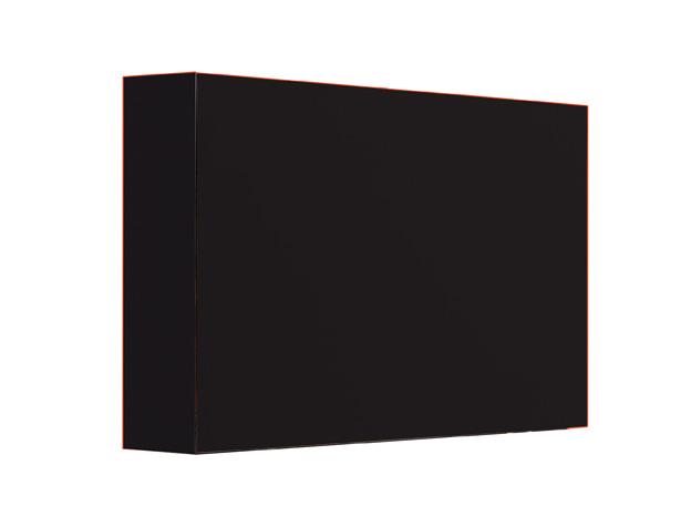 FLATBOX schwarz matt Detailbild 2