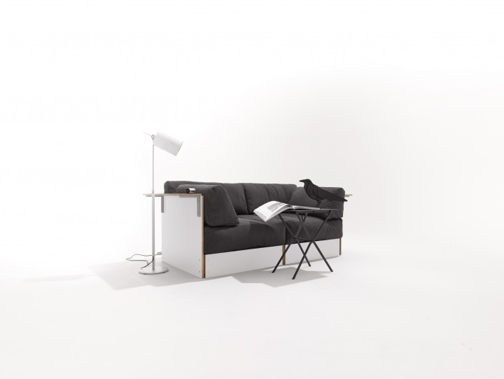 Sofabank No. 1 weiss