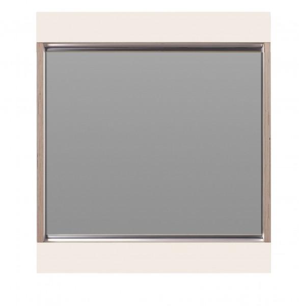 Flai Spiegel 610 x 610 mm, weiß