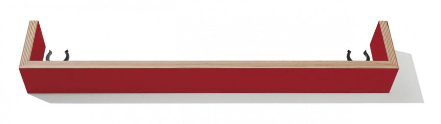 Flatmate Sockelblende rubinrot