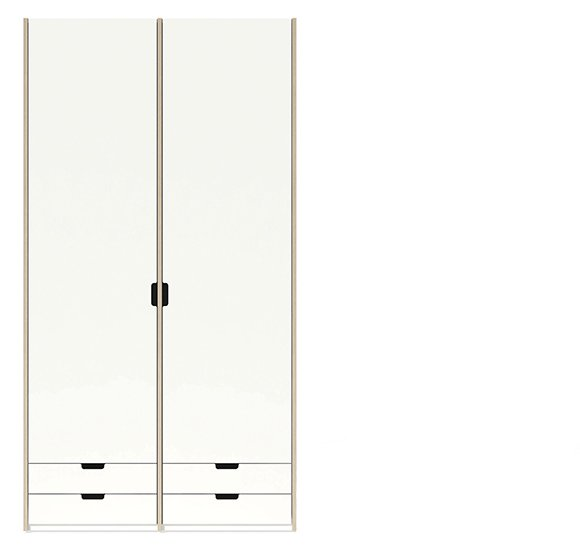 Modular Kleiderschrank Version 1