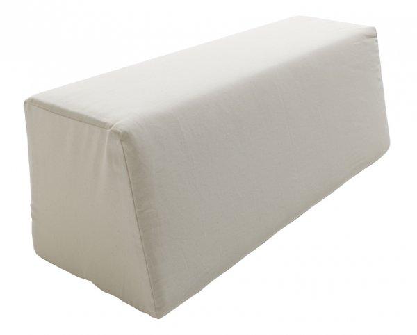 Rückenkissen für Stapelliege in Weiß