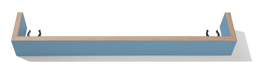 Flatmate Sockelblende blau alize