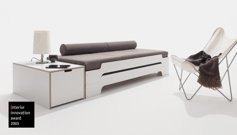 stapelbett rolf heide. Black Bedroom Furniture Sets. Home Design Ideas
