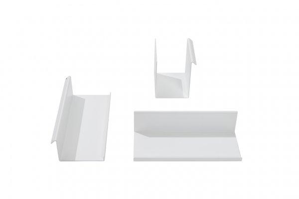 3-Teiliges Ordnungsset, Weiß